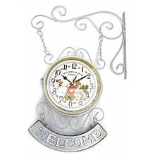 Настенные декоративные часы двусторонние