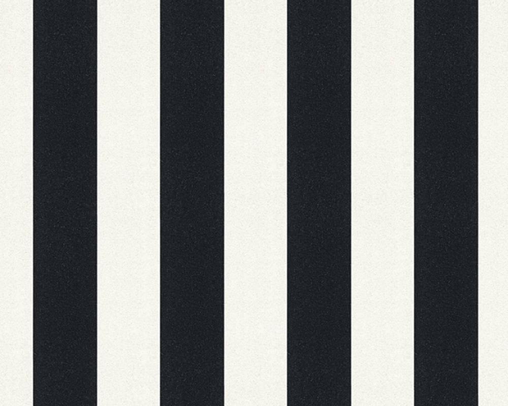 Очень красивые обои с искорками на вертикальных черных и белых полосках 359904