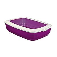 Туалет для кошек Trixie с бортиком «Mio» 32 x 12 x 43 см (пластик, цвета в ассортименте) 4040