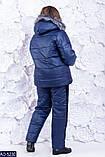 Очень теплый стеганый спортивный костюм-двойка размеры: 50-52,54-56, фото 4
