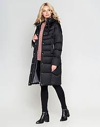 Женская зимняя куртка воздуховик Braggart Angel`s цвет черний модель 29775 размер 46 48 50 52 54 56 58 60