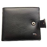 Мужской кошелек с зажимом из натуральной кожи Dr. Bond Classic черный, фото 1