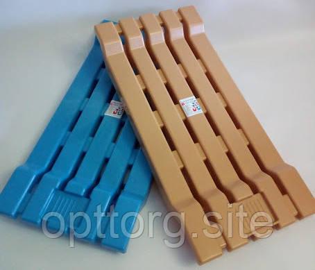 Пластиковое сиденье для ванны 68,5х31,5х5 см Консенсус