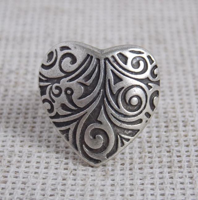 кольцо сердце