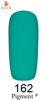 Гель-лак F.O.X Pigment 162 (персидский зелёный, эмаль),6 ml