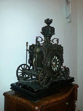 Каминные часы Карета. нач.ХХ-го века, фото 2