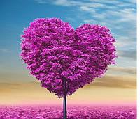 Алмазная мозаика - дерево сердце, фото 1