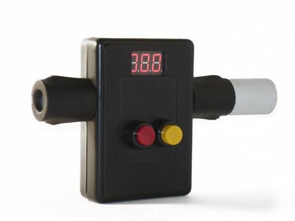 Измеритель скорости пули для пневматических винтовок Хронограф хт 02