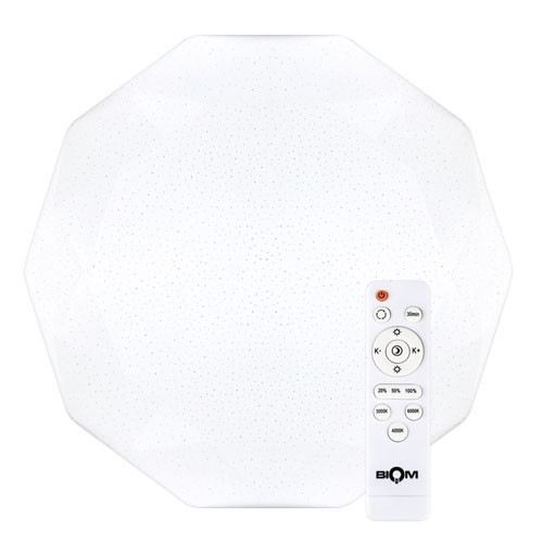 Світильник 80Вт світлодіодний SMART SML-R05-80 3000-6000K з пультом