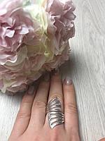 Серебряное кольцо необычного дизайна