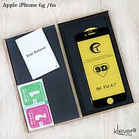 Защитное стекло Tianmeng Star 9D для Apple iPhone 6g / 6s (black) (клеится всей поверхностью), фото 1