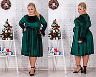 a646eed95e0 Бархатное нарядное платье большого размера 70р