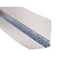 Уголок алюминиевый перфорированный со стеклосеткой 3м