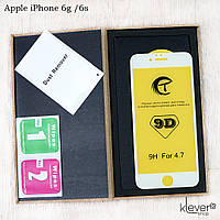Защитное стекло Tianmeng Star 9D для Apple iPhone 6g / 6s (white) (клеится всей поверхностью)