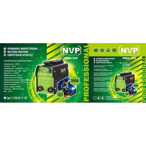 Сварочный инвертор NVP ММА-305, фото 2