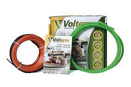 Теплый пол Volterm двухжильный кабель 1 м² 10 м 180 Вт под плитку и стяжку HR18180, КОД: 146089