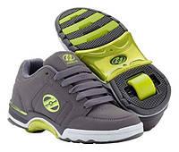 Роликовые кроссовки Heelys Chrome 7893 (44.5, Зеленый)