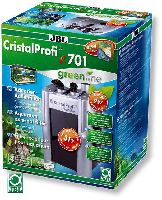 Внешний фильтр JBL CristalProfi GreenLine e701 до 200л
