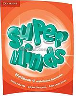 Английский язык /Super Minds/Workbook+Online Resources. Тетрадь к учебнику, 4/Cambridge