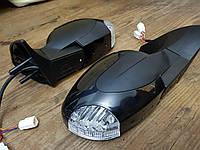 """Комплект боковых зеркал Ваз 2108-2115 НЛА 15 УГО""""Волна"""" с электроприводом, обогревом и повторителем поворота"""