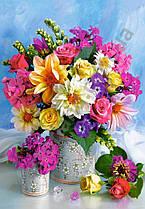 Пазли CastorLand на 1500 елементів Букет квітів Касторленд C-151516