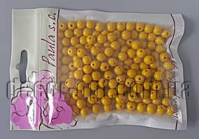 Намисто кукурудзяного відтінку 8 мм 50 гр
