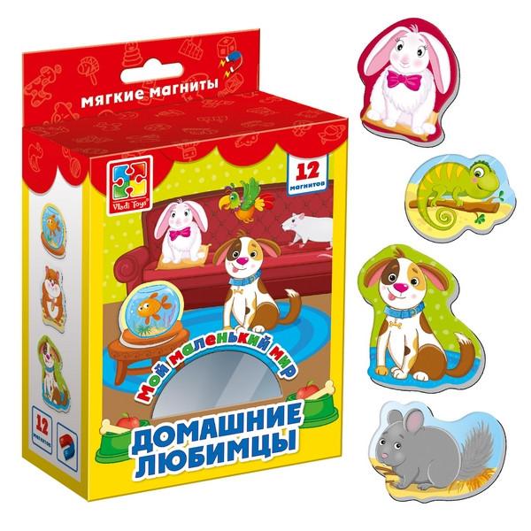 Гра Vladi Toys Мій маленький світ на магнітах Домашні улюбленці (Укр) (VT3106-05)