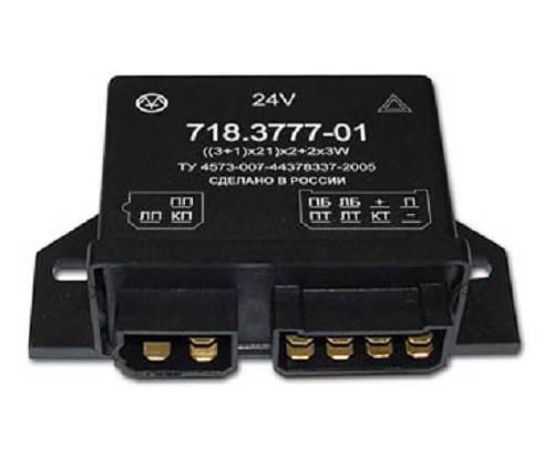 Прерыватель указателей поворота и аварийной сигнализации 718.3777-01, фото 2