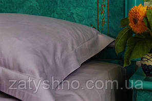 Комплект постільної білизни сатин гладкокрашеный Lavander