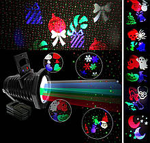 Лазерный проектор STAR SHOWER 2в1 40 узоров, фото 2