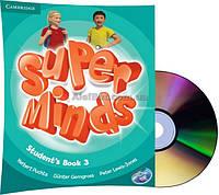 Английский язык /Super Minds/Student's Book+DVD. Учебник с диском, 3/Cambridge