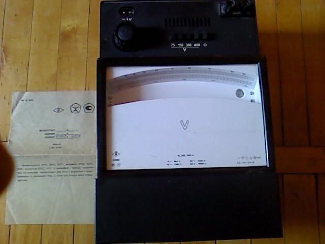 Вольтметр Д5082 класс точности 0,2 по ГОСТ 8711-78 возможна калибровка УкрЦСМ