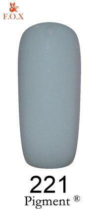Гель-лак F.O.X Pigment 221 (ниагара, эмаль),6 ml