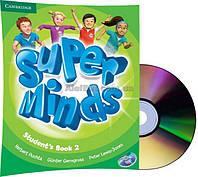 Английский язык /Super Minds/Student's Book+DVD. Учебник с диском, 2/Cambridge