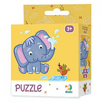 Картонный пазл Слонёнок / Слоненя (16 деталей), Додо / Dodo