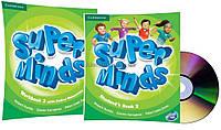 Английский язык /Super Minds/Student's+Workbook+DVD. Учебник+Тетрадь (комплект с диском), 2/Cambridge