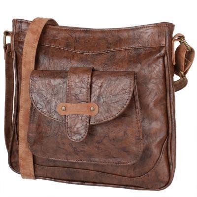 95d66fe3bdad Сумка-планшет Laskara Женская сумка из качественного кожезаменителя LASKARA  (ЛАСКАРА) LK10207-choco