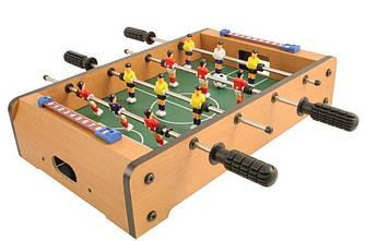 Настольный футбол деревянный, на штангах (638В)