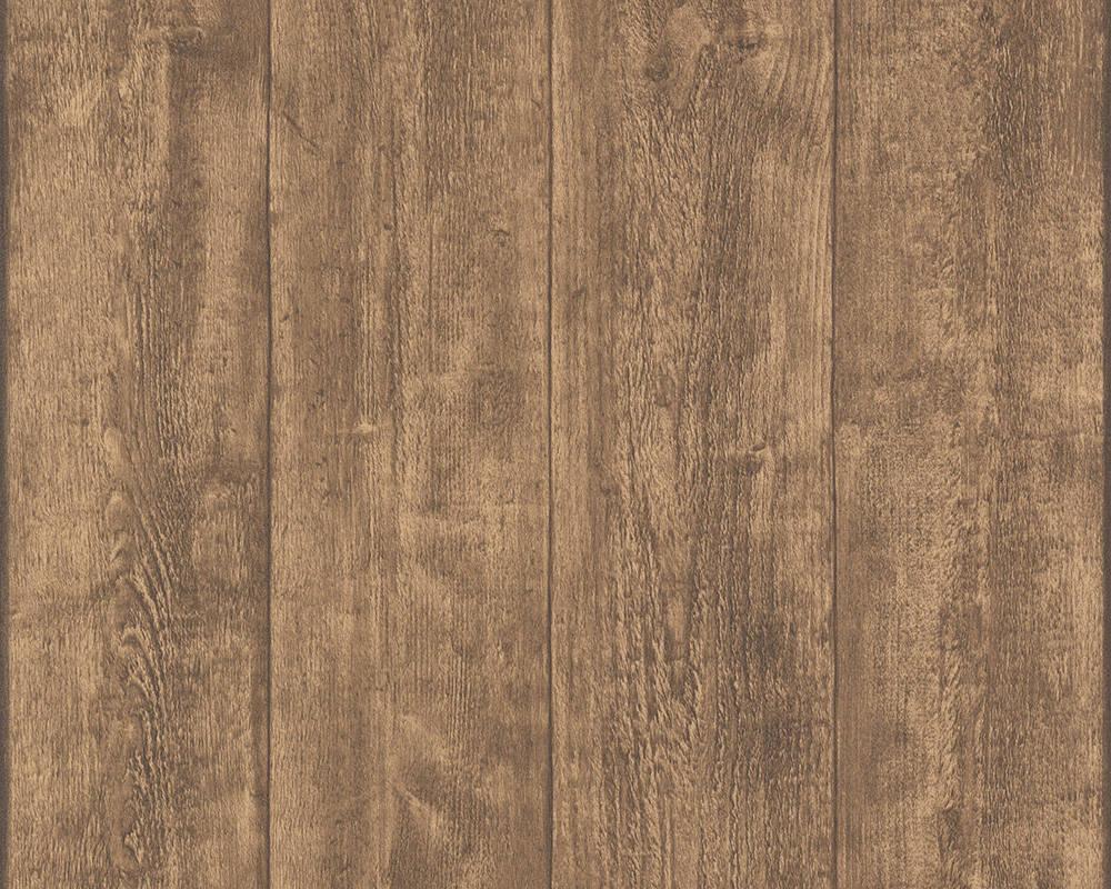 Обои с узором в виде деревянных досок венге 780823