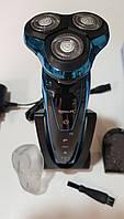 Влагозащищенная электробритва с 3 насадками TintonLife FT80