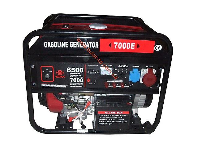 Генератор бензиновый WEIMA 7000E ATS