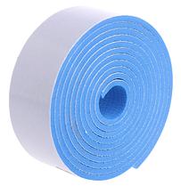 Мягкая защитная лента на углы, торцы мебели 2 метра. Голубой