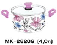 Кастрюли эмалированные  4.0л OSCAR MK-2620G