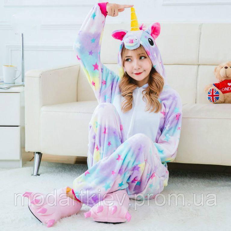 Кигуруми Единорог Звездный 120-130 рост Kigurumi   продажа fc5abb5387a05