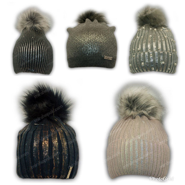 купить оптом детские шапки с фольгированием