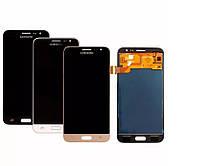 Дисплей сенсор модуль с регулировкой яркости для Samsung Galaxy J3 2016 J320H/DS J320H Black