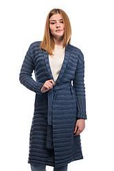 Кардиган-пальто SVTR S-М Джинс 491, КОД: 269896