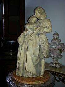 Скульптура Пара закоханих Теракота поч. 20 століття, Богемія