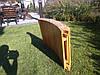 Деревянный лежак - шезлонг ERGO (дерево черешня), фото 3