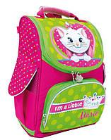 Школьный рюкзак 1 Вересня Киска Мари